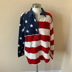 Roper Americana woven button down shirt #6073